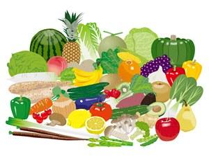 ファスティング(断食)後の回復食に食べて良い物 果物(フルーツ)、野菜
