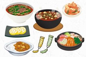 ファスティング(断食)後の回復食に食べて悪い物 辛い食べ物