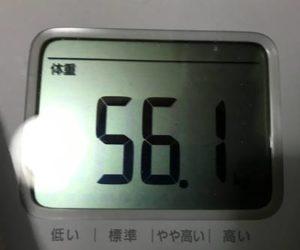 体重56.1㎏