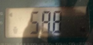 体重58.8㎏
