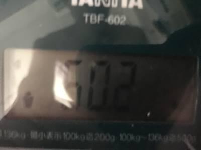体重60.2㎏