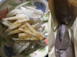 第5回断食回復食3日目夕食